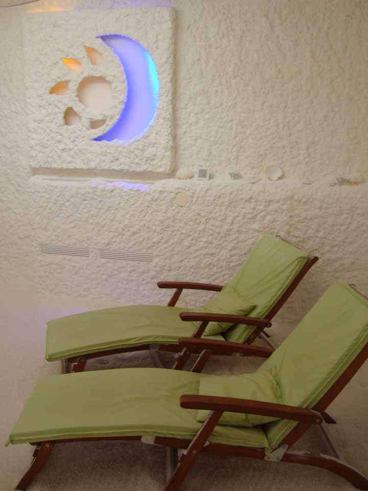 solna terapija - solna soba